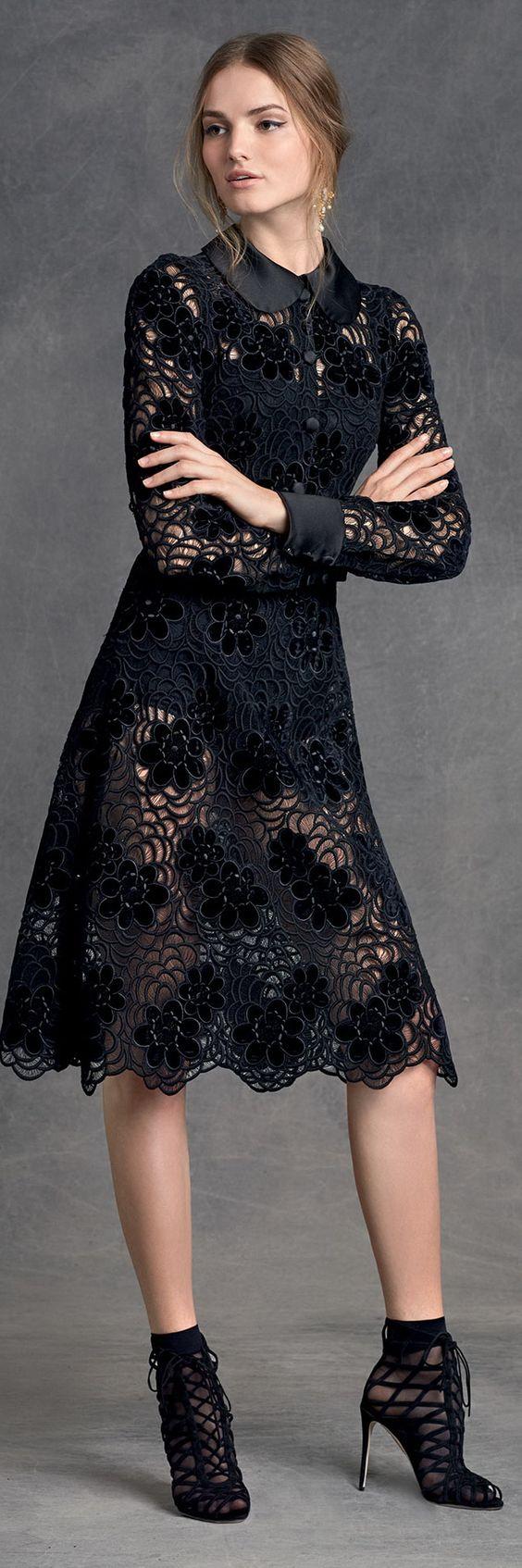 D g black lace dress and shoes best dress ideas pinterest d