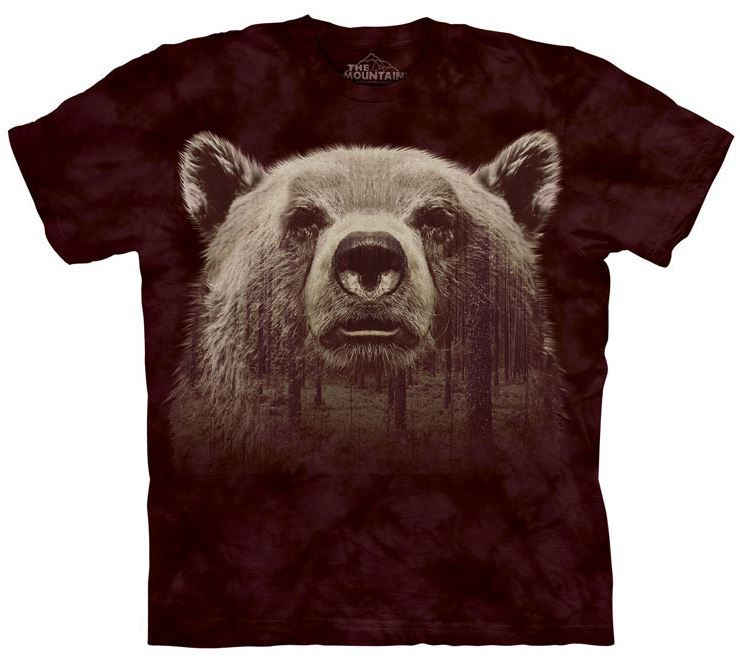 Bear Face Forest T-Shirt - American Expedition