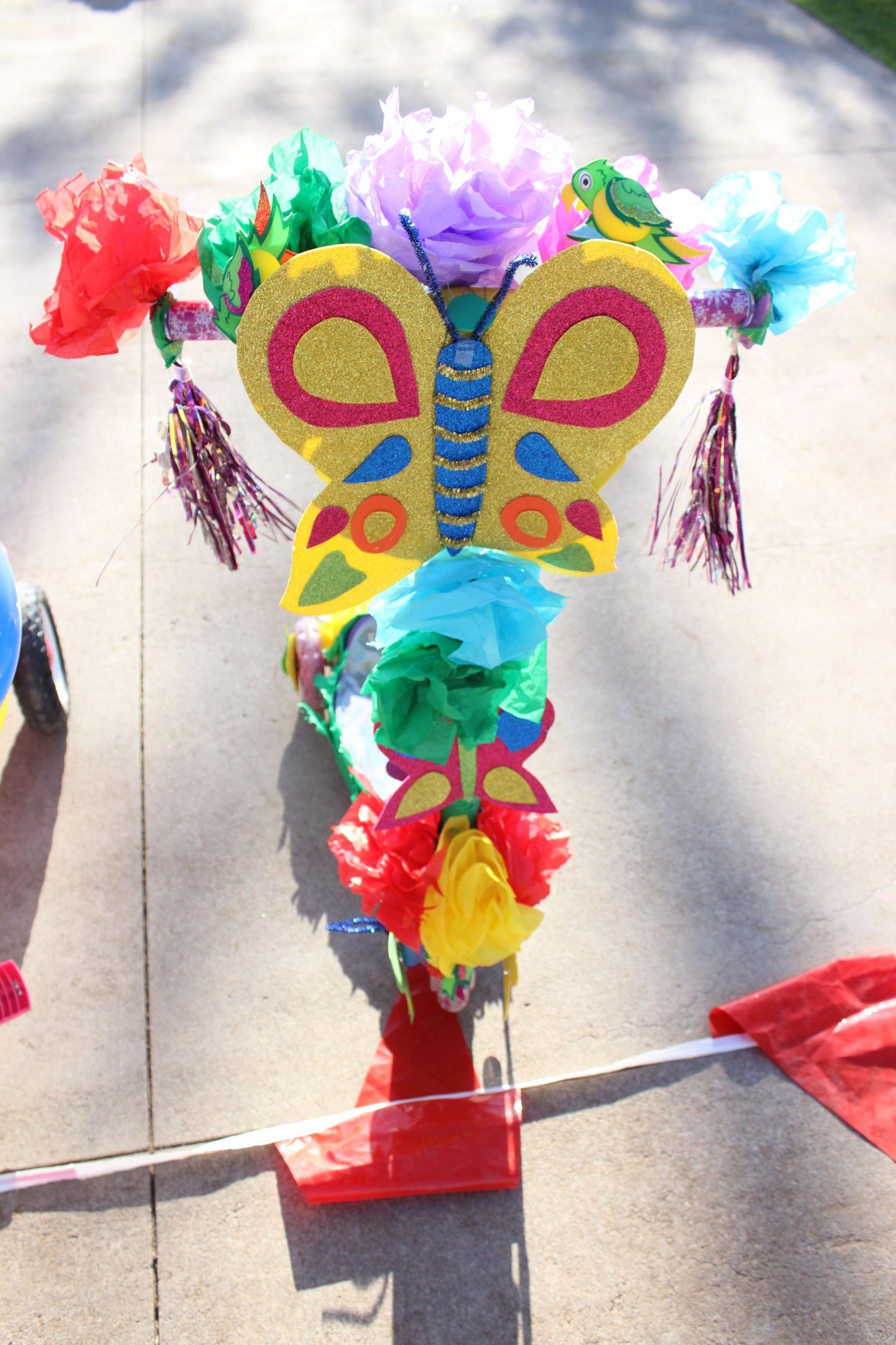 Primavera diy decoracion triciclo ni os bicicleta for Decoracion del hogar en primavera