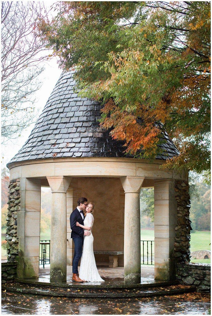 Rainy autumn wedding inspiration at the graylyn estate samantha