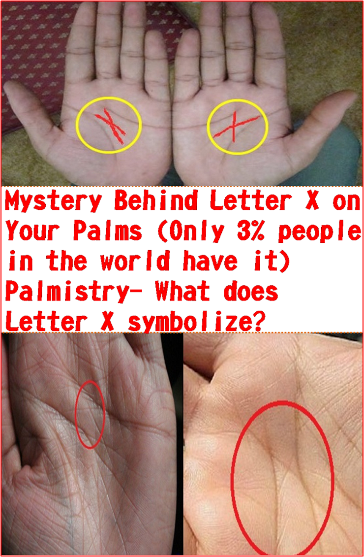 Mystery Behind Letter X on Your Palms (Only 3% people in the world have it) Palmistry- What does Letter X symbolize? #eyeshaveit