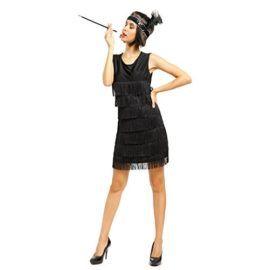 1920s 1930s Flapper Classic Wigs Blonde Black Great Gatsby Fancy Dress Party