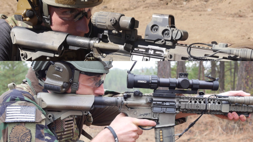 Video Red dot + Magnifier vs Low Power Variable Optics