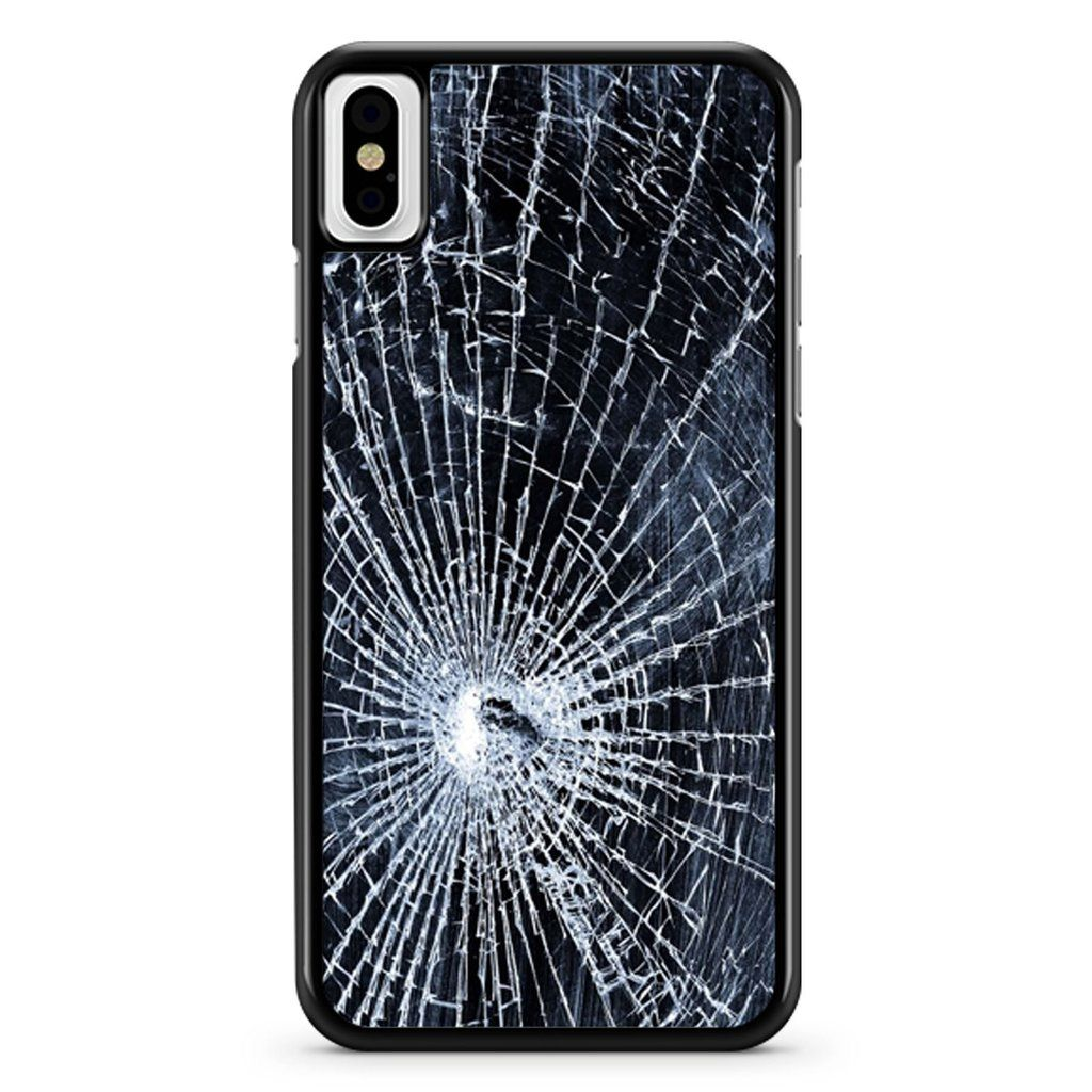 Broken Glass Wallpaper 1 iPhone X / XS / XR / XS Max Case