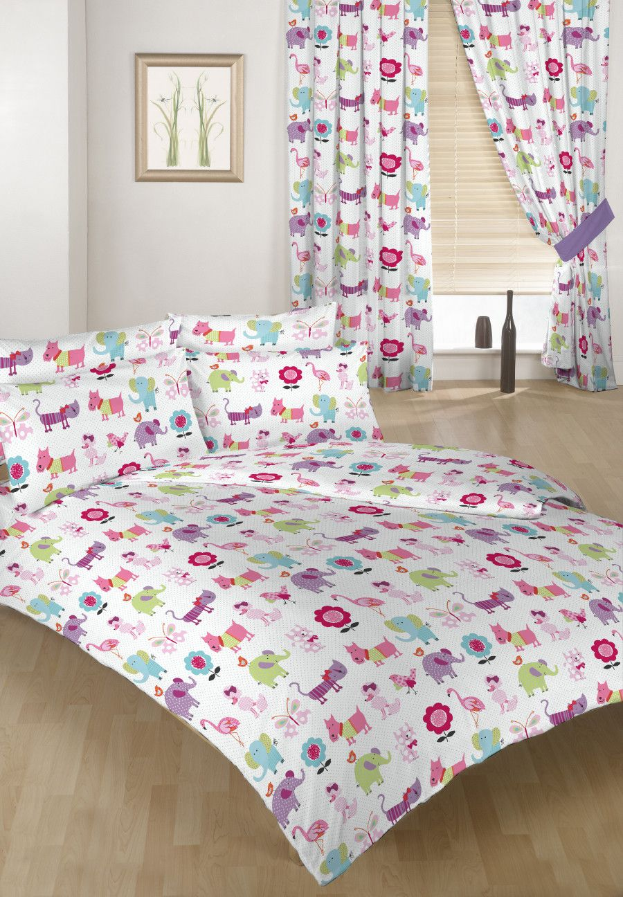 childrens bedding double size duvet qulit covers 2 pillowcases bed