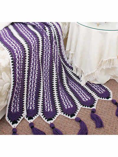 Free Pattern Crochet Afghans - Crochenit Southwest Mile-a-Minute ...