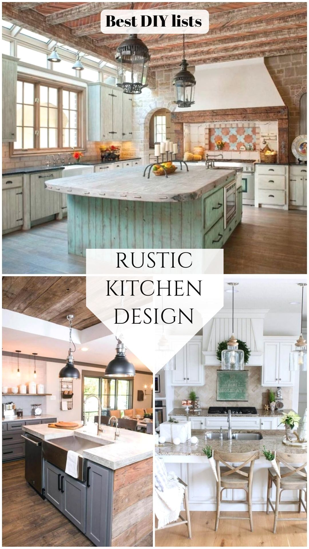 Rustic Kitchen Ideas in 2020   Cheap kitchen remodel, Home ...