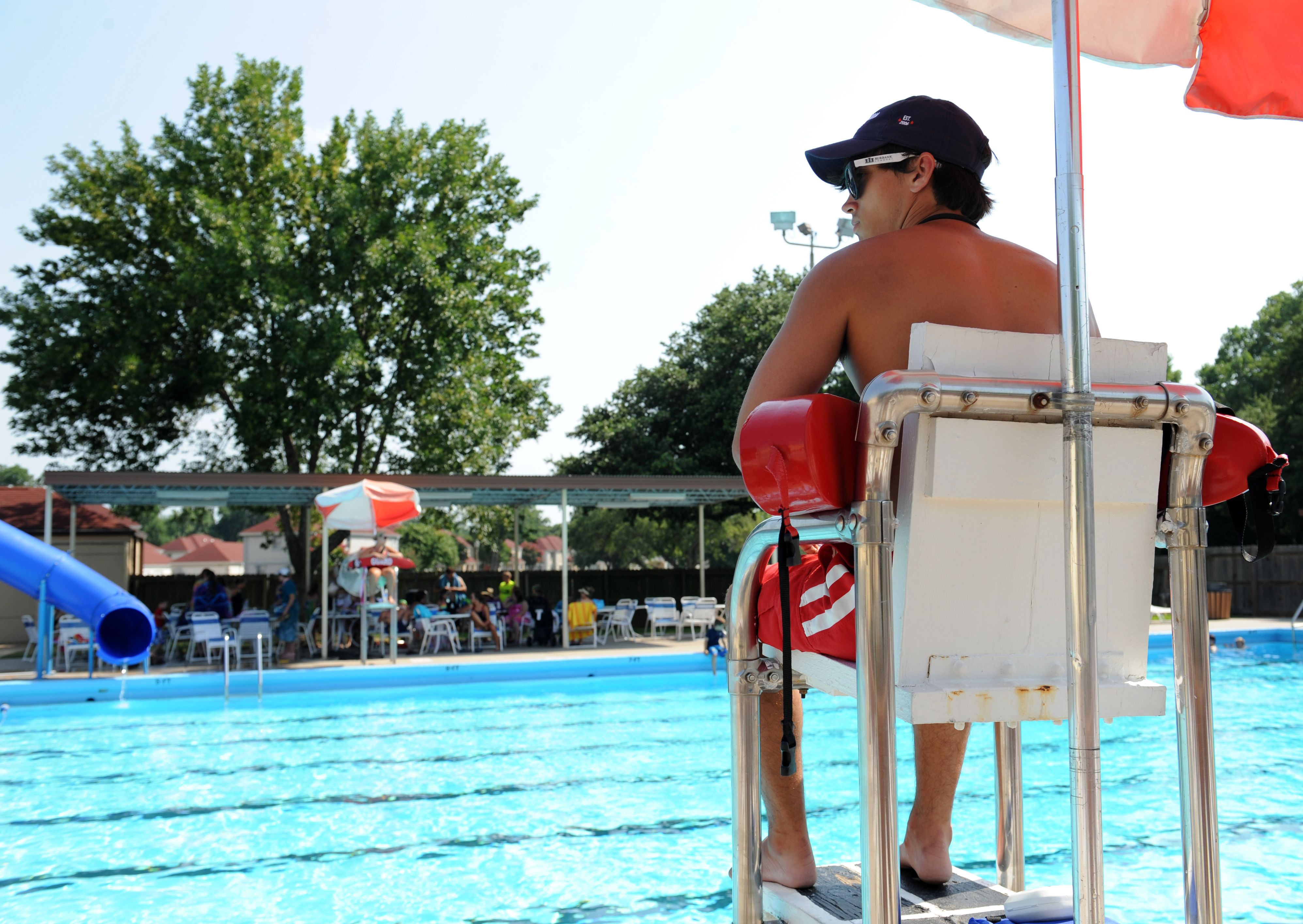 Saving Lives Barksdale Lifeguards Pool Maintenance Lifeguard Saving Lives