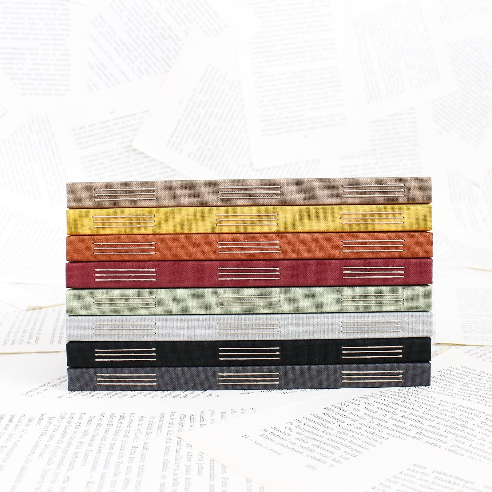 How To Make A Book Cover Cloth ~ Cloth cover bullet journal g  binding books