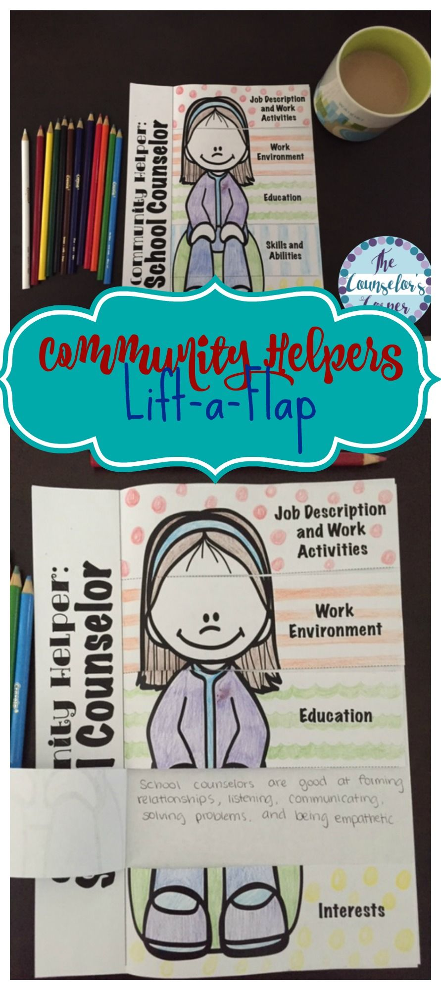 Community Helper LiftAFlap Students Explore The Job Description