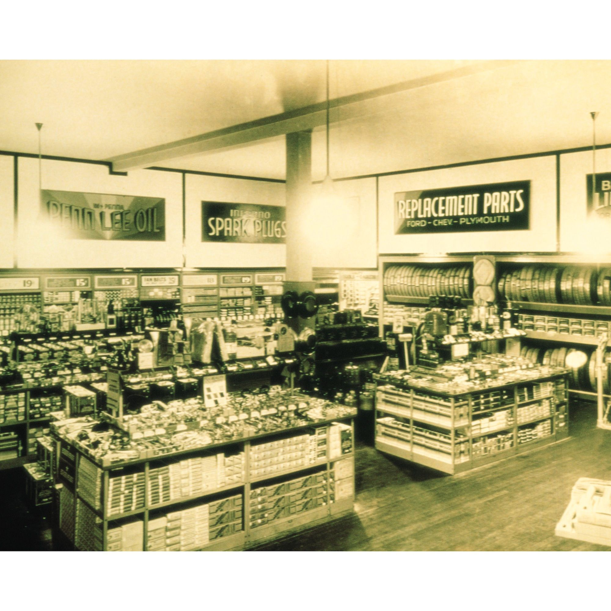 One Of The First Advance Auto Parts Stores From The Early