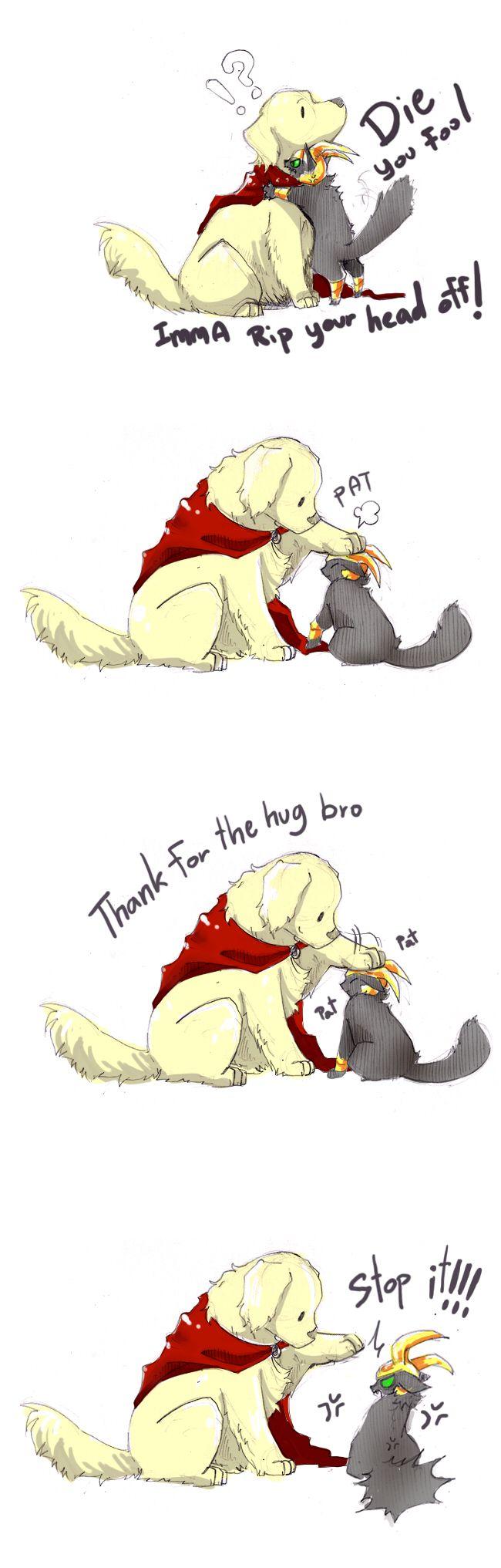 relationship of loki and thor