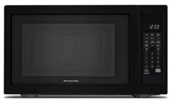 Kitchenaid Architect Series Ii Countertop Microwave Oven Black Kcms1655bbl Countertop Microwave Oven Countertop
