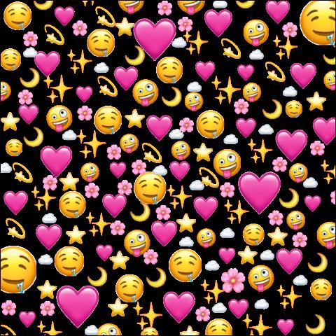 Discover Trending Love Stickers Emoji Wallpaper Iphone Emoji Wallpaper Emoji Backgrounds