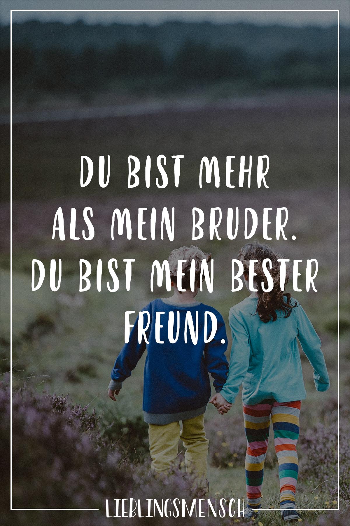 Bester Freund Schwester Bruder