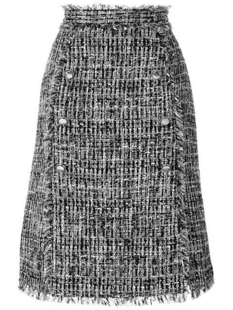 short skirt in tweedMsgm