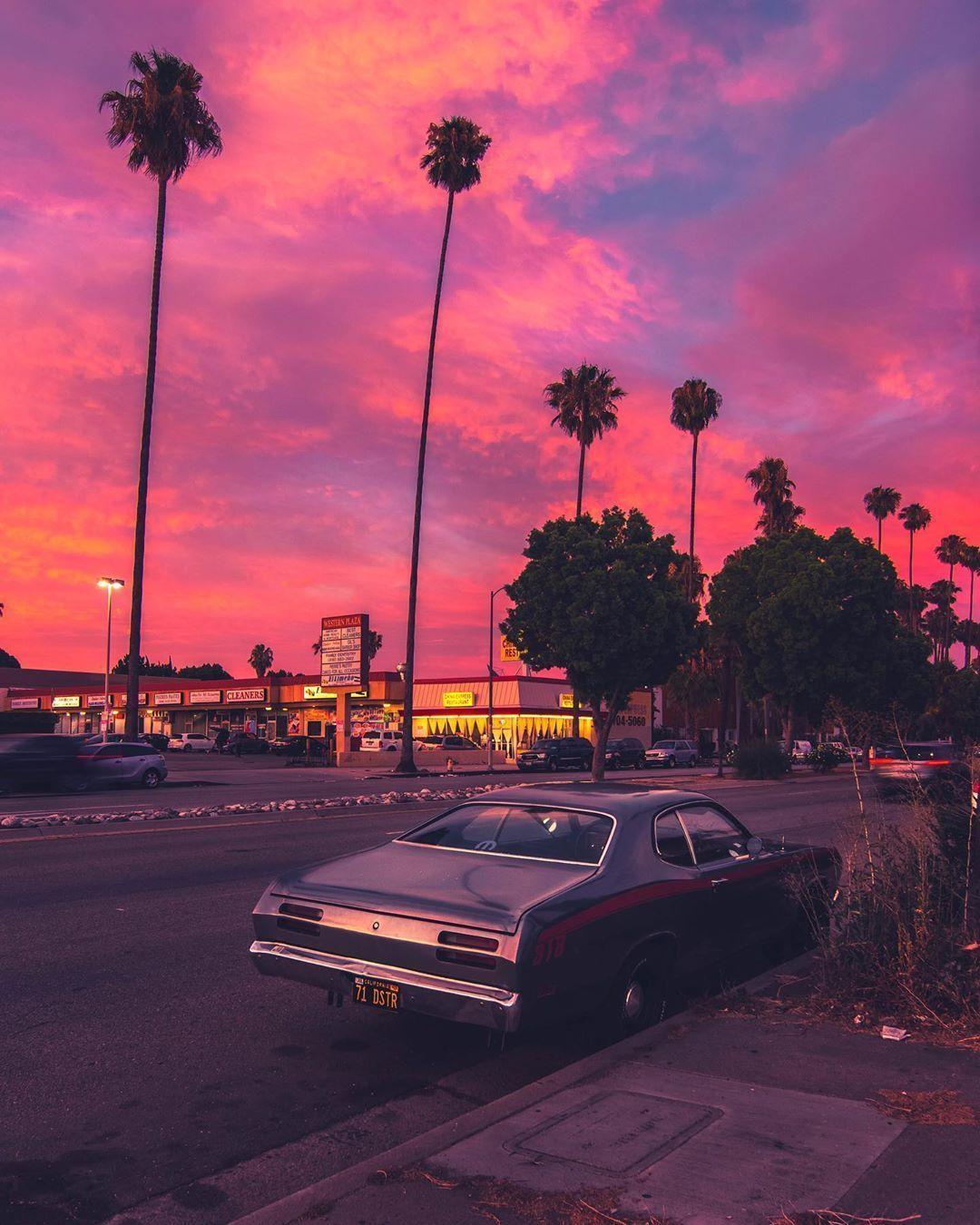 rosa ästhetische Sonnenuntergänge Sonne Sonnenaufgang Sonnenuntergang gesetzt Tumblr ästhetis...