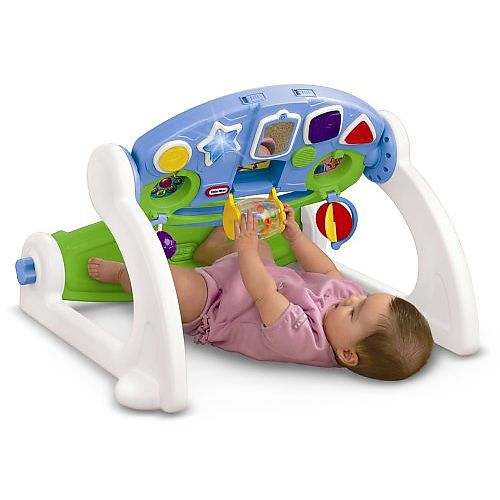 The 5 In 1 Adjustable Gym By Little Tikes Is An Engaging And