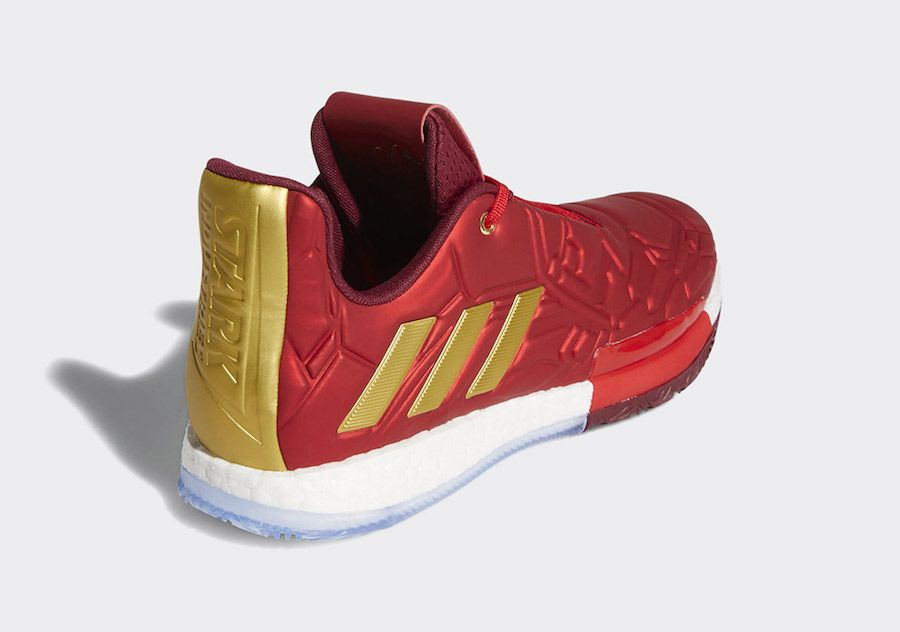 Marvel x adidas Harden Vol. 3 Iron Man EF2397 Release Date