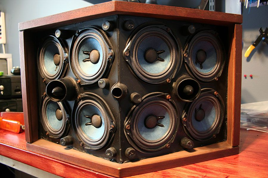 Bose 901 Speaker Restoration  SOLID-orange   audio ...