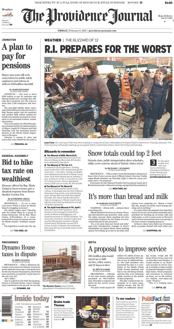 The Providence Journal, published in Providence, Rhode