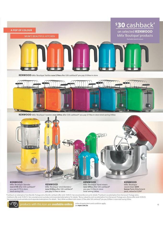 Colorful Kitchen Supplies: Rainbow Kitchen, Kitchen Colors