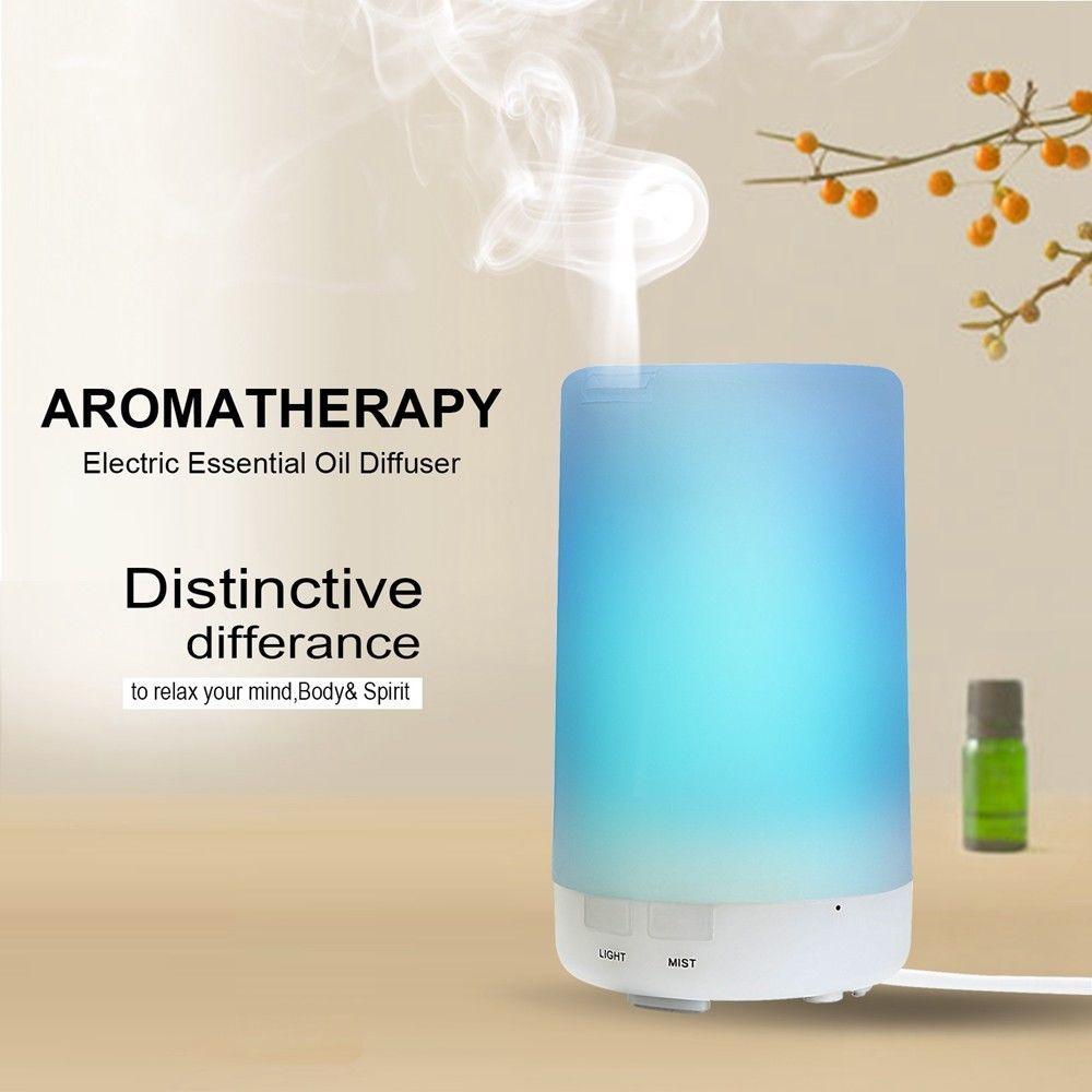 LED USB Essential Mni Oil Ultrasonic Air Humidifier Aroma