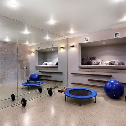 Home Gym Design Ideas Pictures And Remodels Gym Room At Home