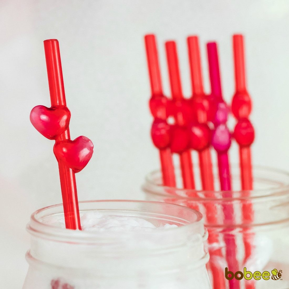 Red Heart Straws 6 count