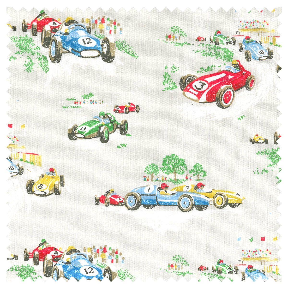 Cotton Fabric | Vintage Car Cotton Duck | CathKidston