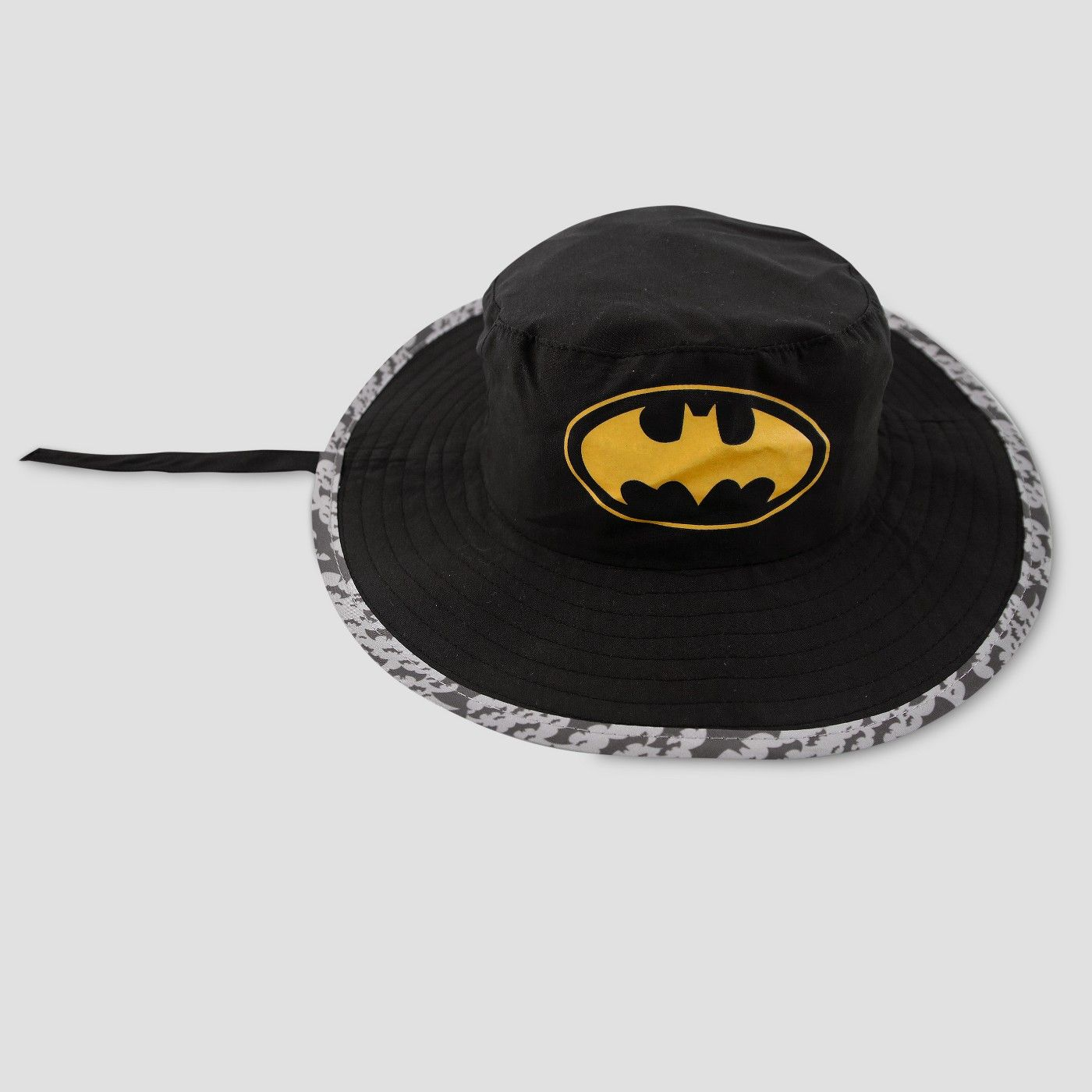 0ce9ea1afe2bf Toddler Boys  DC Comics Batman Safari Sun Hat - Black One Size  Comics