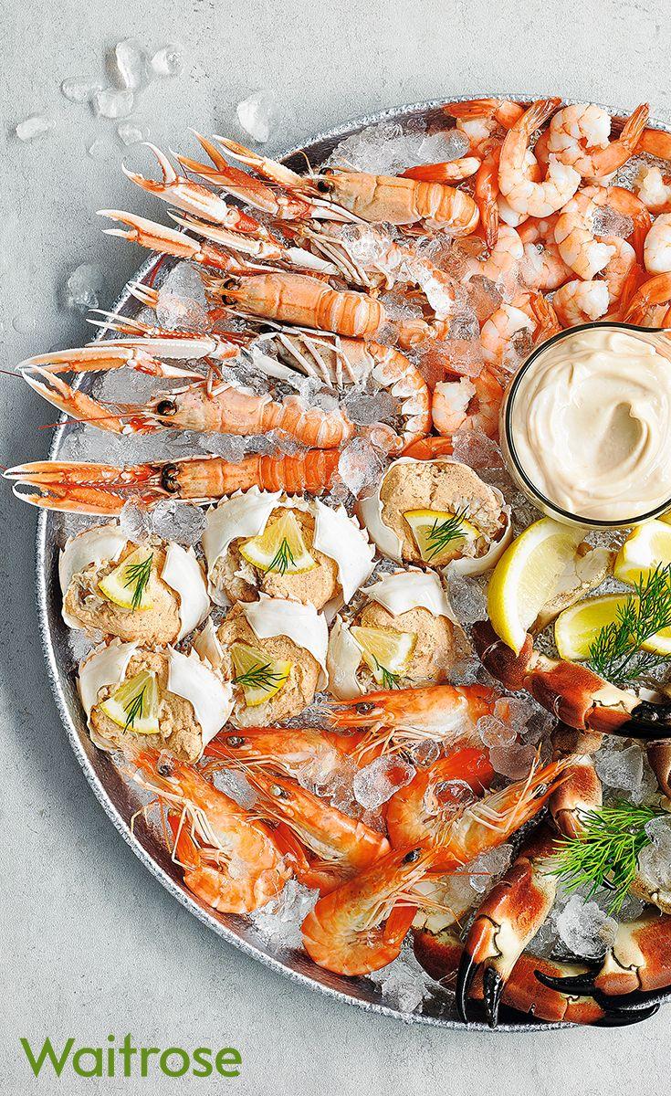 Luxury Shellfish Platter In 2020 Food Seafood Platter