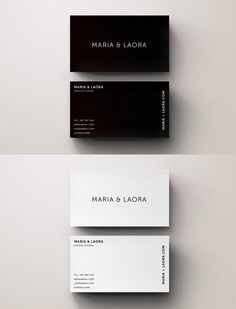 Black White Modern Business Card Modern Business Cards Modern Business Cards Design Minimalist Business Cards