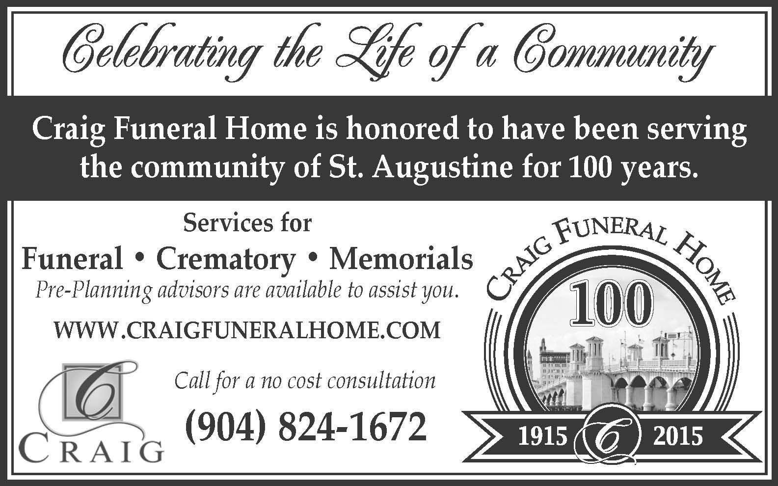 Craig Funeral Home How to plan