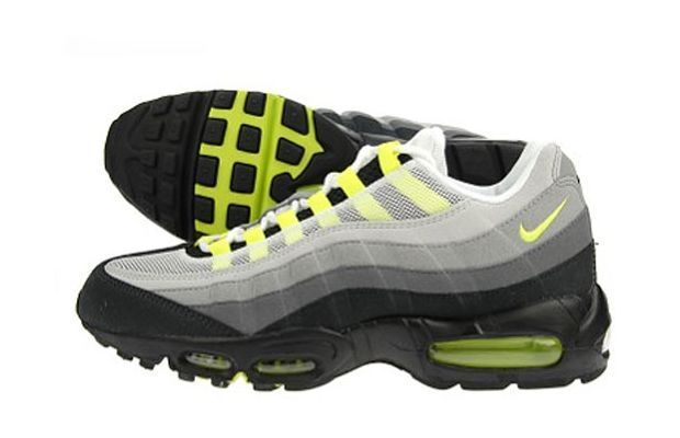 The 90 Greatest Sneakers Of The 90s Air Max 95 Neon Nike Air