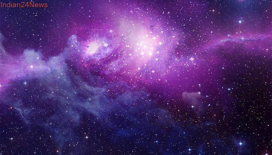Discovery Of Galaxy Without Dark Matter Baffles Astronomers Wallpaper Space Purple Galaxy Wallpaper Planets Wallpaper