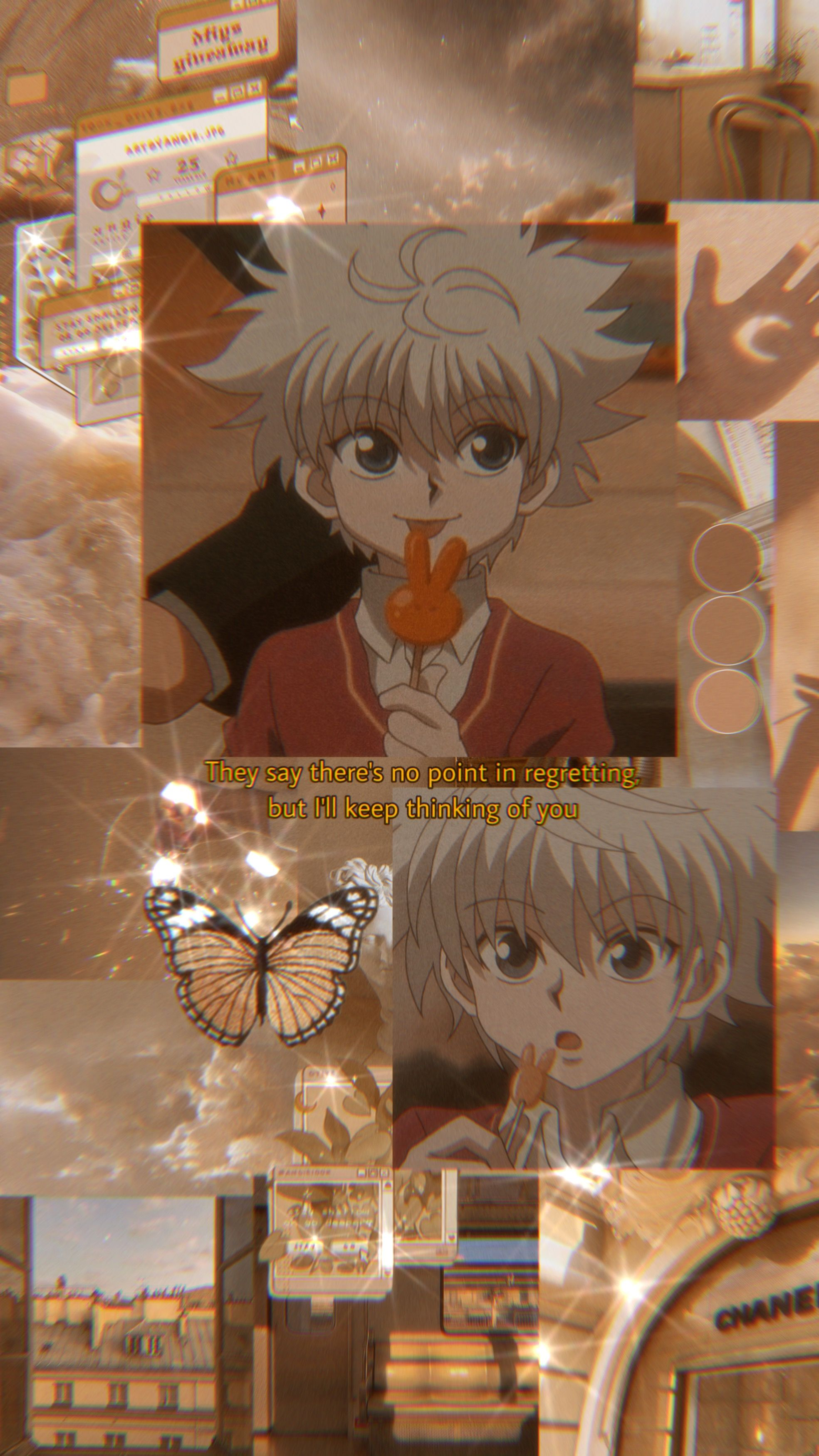 This subreddit is dedicated to the japanese manga and anime series hunter x hunter, written by … Killua Wallpaper🦋 in 2020 | Cute anime wallpaper, Anime ...