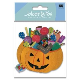 We are already excited for Halloween! Cozy's Scrapbooking Friday Featured Item, Jolee's scrapbooking sticker Pumpkin Basket item JJJA150C.    $1.25    (Seasonal, Holiday, Trick or Treat)