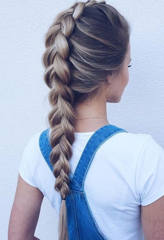 12 Easy Braids For Long Hair #coiffure