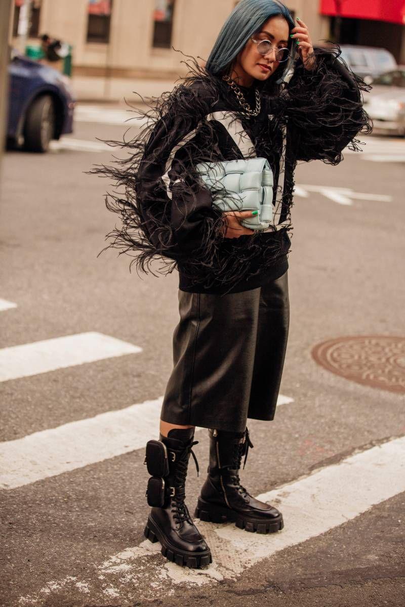 Tydzien Mody W Nowym Jorku Jesien Zima 2020 2021 Japanese Street Fashion New York Fashion Week Street Style Street Style