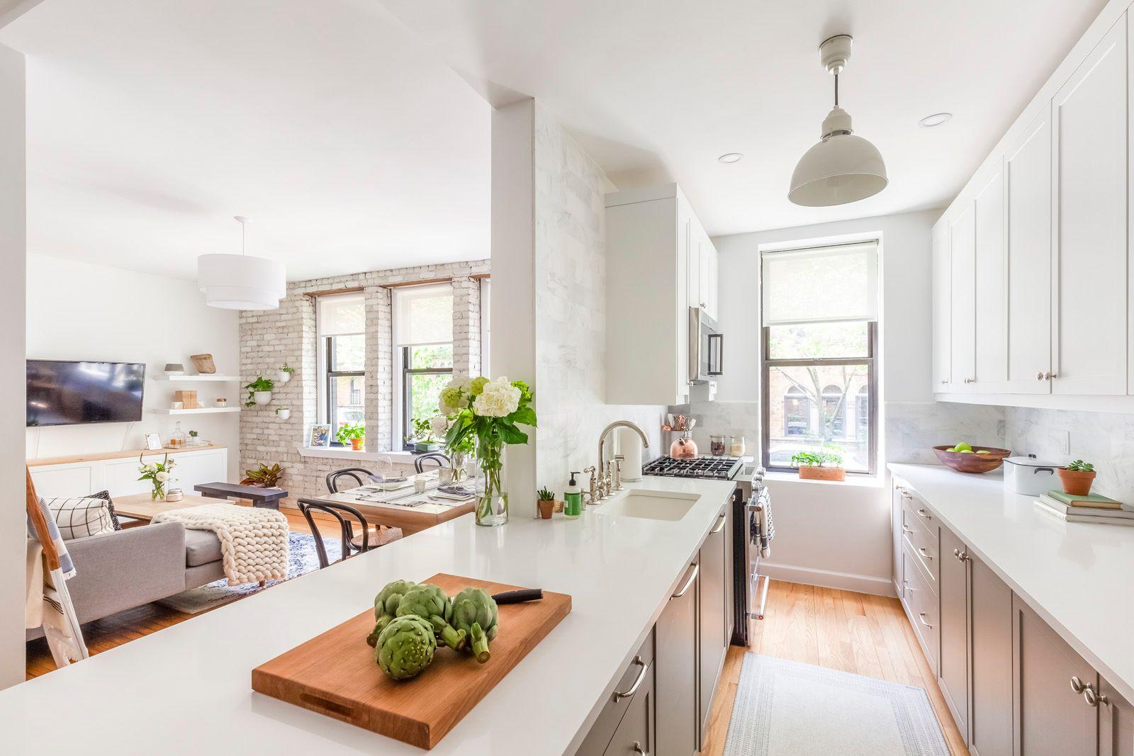 A Ground Floor Apartment Renovation in Sunnyside, Queens   Kitchen ...