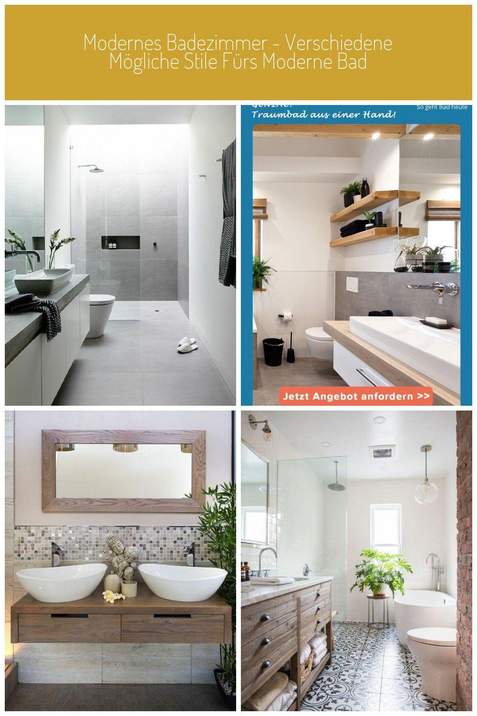 Modernes Badezimmer Weiss Hellgrau Fliesen Pflanze Dusche Pflanze Bad Modernes Badezimmer Verschiedene Mo Badezimmer Trends Moderne Bader Modernes Badezimmer