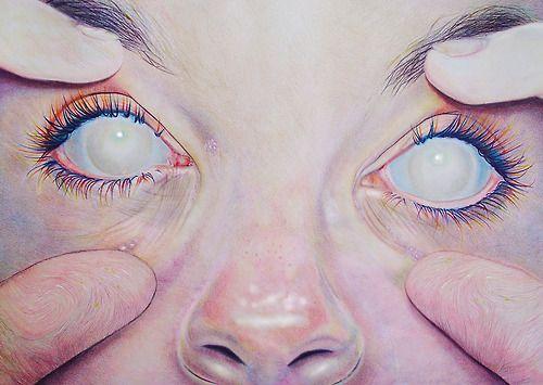 3 Tumblr Art Faces In 2019 Blind Art Eyes Blind Eyes