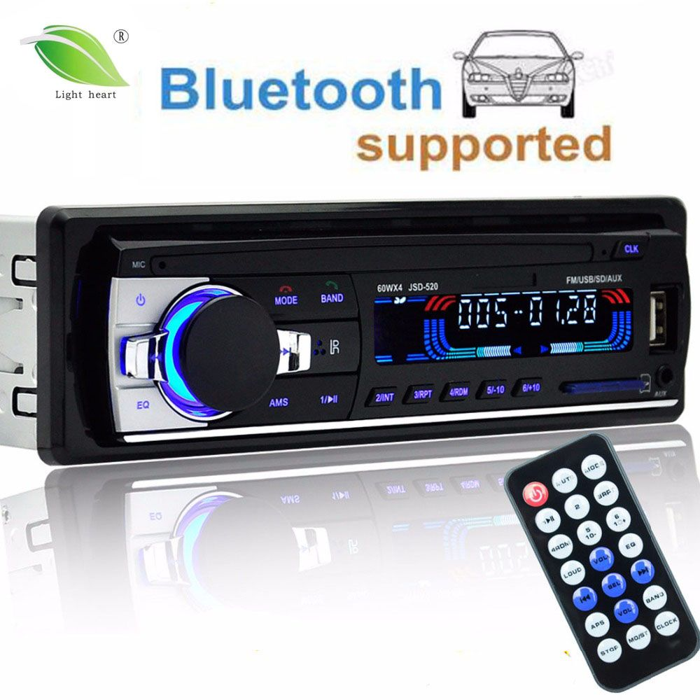 Autoradio 12v Car Radio Bluetooth 1 Din Car Stereo Player Phone Aux In Mp3 Fm Usb Radio Remote Control For Pho Stereo Player Car Bluetooth Bluetooth Car Stereo