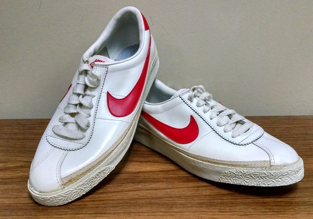 Mens Swoosh Vintage Nike 1981 OG Bruin Classic Red Sneakers FlKJcT13
