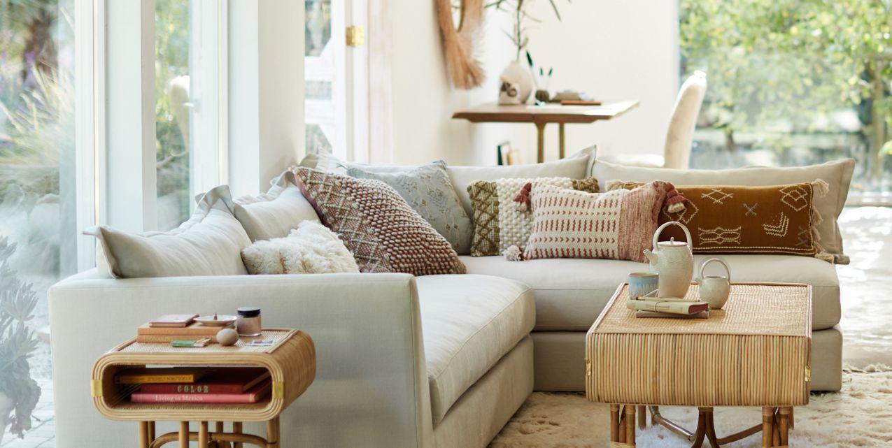Denver L-Shaped Sectional in 2019 | LA baby! | Living room ...
