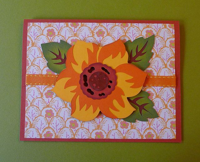 cricut card  card making inspiration flower cards