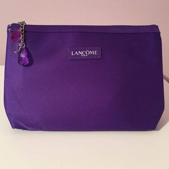 Lancôme Makeup Bag Beautiful Purple With A Design Inside Lancome Bags Cosmetic Cases