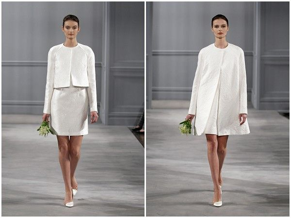 Chic wedding dress on French Wedding Style Blog | Wedding Style ...