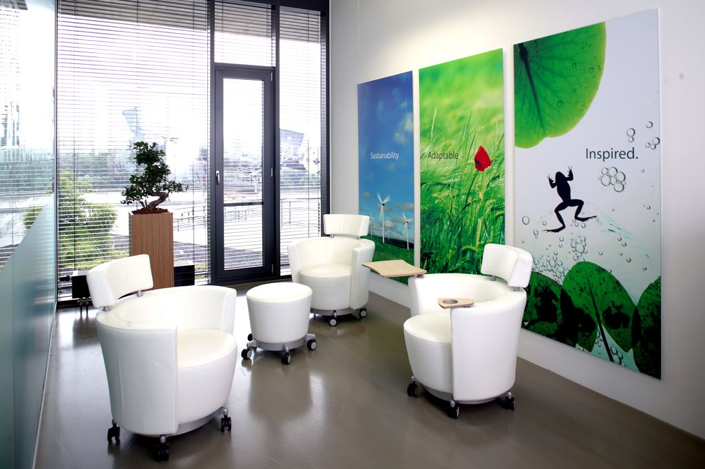 office lounge interior design with hello soft seating